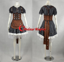 Alice Madness Returns Alice Stream Cosplay Costume dress  - Costume made in Any  - $108.00