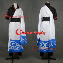 Silver Soul Gintama Sakata Gintoki Cosplay Costume - Custom-made in sizes - $69.00