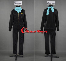 Anime Noragami Yato Cosplay Costume Sports Suit Clothes - Jacket and scarf - $39.00