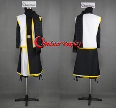 Natsu Dragneel Cosplay Costume from Fairy Tail with black scarf - Custom made in - $69.00