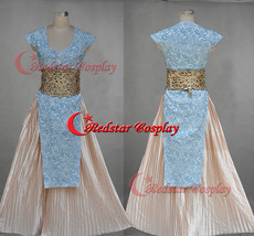 Game of Thrones Daenerys Targaryen Blue Dress Cosplay Costume Blue Style - Custo - $96.00
