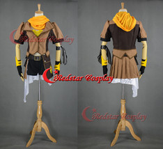 RWBY Yellow Trailer Yang Xiao Long Cosplay Costume - Custom Made in any size - $88.00