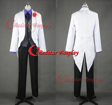 League of Legends LOL Ezreal Cosplay Costume Animen Mens Cosplay Party Suit - Cu - $88.00