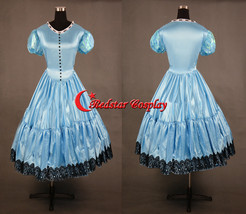 Alice in Wonderland Cosplay Disney Princess Alice Evening Party Dress Cosplay Co - $78.00
