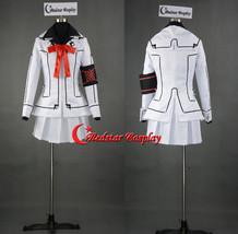 Vampire Knight Cosplay Costume Yuki Cross White Uniform - Custom made in sizes - $49.00