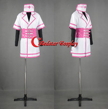 Super Sonico Sexy Nurse version Uniform Cosplay Costume made dress outfit - Cust - $55.00
