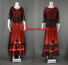 Replica Titanic Rose Jump Dress Costume Victorian - Custom Tailed in Any size - $89.00