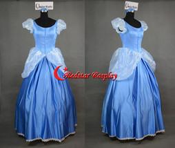 Sandy Princess Cinderella Princess Cosplay Costume Adult Dress - custom-made in  - $129.00