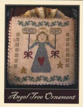 Angel Tree Ornament cross stitch chart Niky's Creations - $12.60