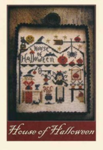 House of Halloween cross stitch chart Niky's Creations - $12.60