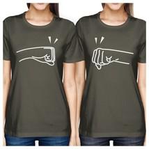 Fists Pound BFF Matching Dark Grey Shirts - $30.99+