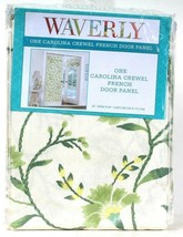 "1 Count Waverly 26"" Wide  X 68"" Length Spring Carolina Crewel French Door Panel - $23.99"