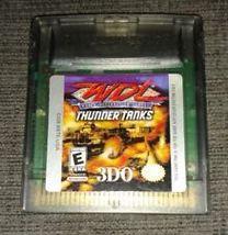 WDL THUNDER TANKS - NINTENDO GAME BOY COLOR - GAME ONLY -  - $6.99