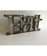 Eat Retro Lighted Marquee Sign Studio Décor® Mi... - $88.00