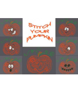 Stitch Your Pumpkin halloween cross stitch AAN Alessandra Adelaide Needl... - $24.30