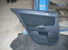 2008 MITSUBISHI LANCER LEFT REAR DOOR TRIM PANEL