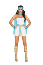 Sexy Elegant Moments Queen Of The Nile Cleopatra Egyptian Costume S-XL 9138 - $38.99