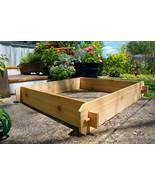 Raised Bed Garden Planter Flower Vegetable Cedar Outdoor Patio Gardening... - $49.99