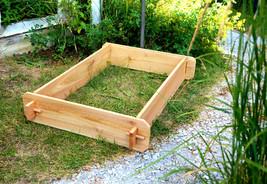 Raised Planter Garden Bed Flower Box Vegetable Cedar Herb Patio Outdoor Balcony - $44.99