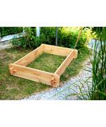Raised Planter Garden Bed Flower Box Vegetable Cedar Herb Patio Outdoor ... - $44.99