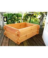 Cedar Garden Raised Bed Planter Flower Box Vegetable Elevated Outdoor Ki... - $79.99