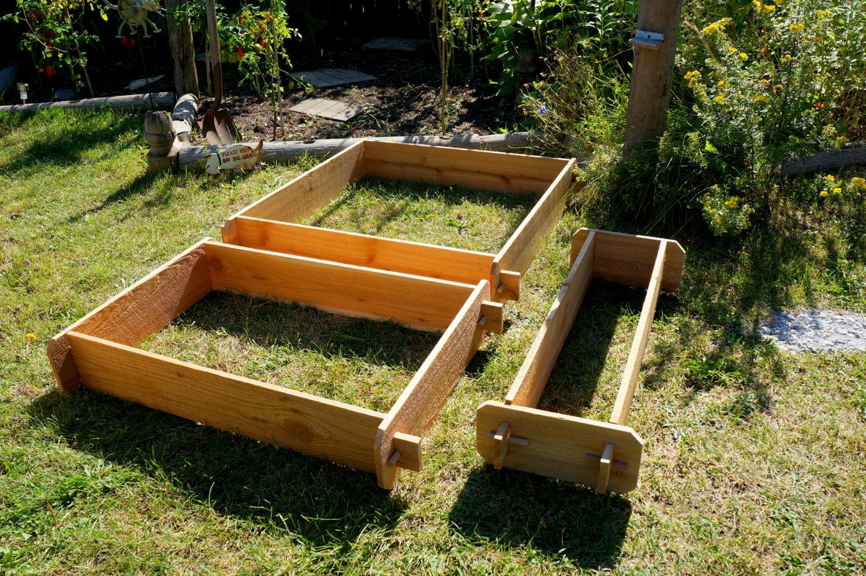Raised Bed Patio Garden Planter Flower Box Herb Elevated