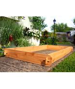 3x6 Cedar Raised Garden Bed Kit Raised Planter Outdoor Large Pots Plant ... - $64.99