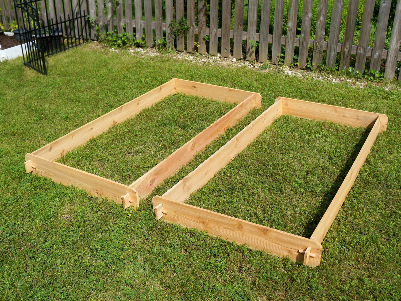 Как сделать деревянные грядки на даче
