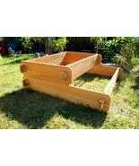 Garden Bed Raised Cedar Planter Tiered Tier Box Flower Vegetable Outdoor... - $84.99