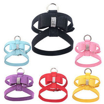 Cute Studded Popular Strap Puppy Metal Bling For Small Harness Rhineston... - $8.70