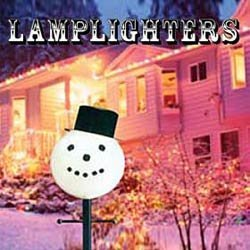 Snowman Lamp Post Cover Light Cover Outdoor Christmas Decor Yard Art