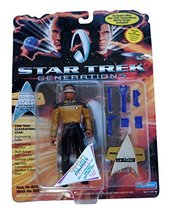 STAR TREK Generations Lieutenant Commander Geordi Laforge 4 inch Action ... - $11.75