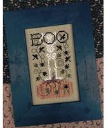 Tangled Up In Boo (3 designs) halloween cross stitch chart Drawn Thread - $8.10