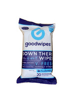 Goodwipes Down There Wipes V Fresh Bamboo + Wildgrass - Flushable - 20 C... - $3.13