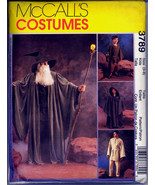 McCall's 3789 STAR WARS WITCH WIZARD COSTUMES Kids 3-4 5-6 7-8 New - $48.00