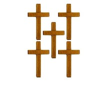 Wood Crosses - 3 1/4 Inch Tall - Pack of 25 - Sunday School  - $16.64