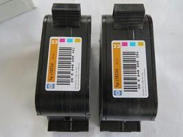 HP 23 tri color inkjet multi 2 pack,  inkjet printer ink hp c1823d 30 ml... - $13.55