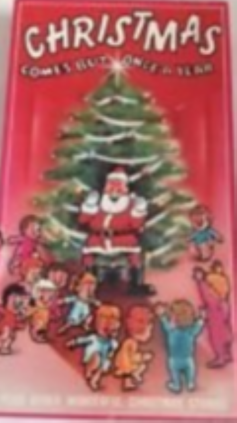 Christmas Comes but Once A Year Vhs