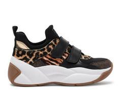Michael Kors Women's Keeley Trainer Animal-Print Calf Hair Shoes Sneakers (5.5) image 2