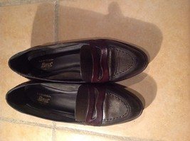 Bass Made In Brazil Two Tone Leather Loafers Women's Size 10 - $35.00