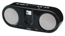 iHome iH30 Boom Box with FM Radio for iPod (Black) [Electronics] - $45.00