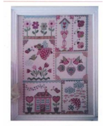 Spring In Quilt cross stitch chart Cuore e Batticuore  - $14.40