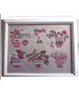Natale In Tazza cross stitch chart Cuore e Batticuore  - $16.20