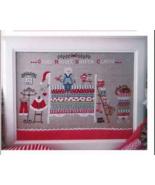 Santa Claus On The Pea cross stitch chart Cuore e Batticuore  - $12.60
