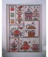 Autumn In Quilt cross stitch chart Cuore e Batticuore  - $12.60