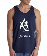 Fearless The mortal instrument Men Tank top Color NAVY BLUE - €16,96 EUR+