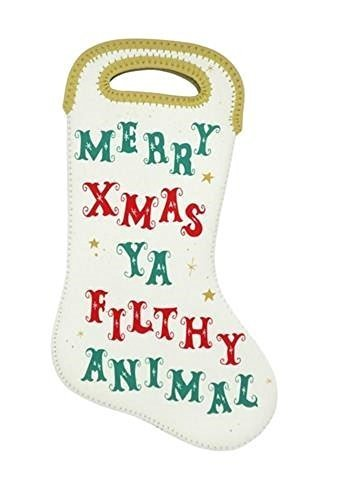 Merry Xmas Ya Filthy Animal Stocking and Holiday Bag [Kitchen]