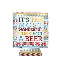 It's the Most Wonderful Time for a Beer Drink Koozie [Kitchen]