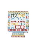 It's the Most Wonderful Time for a Beer Drink Koozie [Kitchen] - $14.84