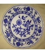 Gauldon England Meissen BWM&Co. Blue and White Plate - $9.79